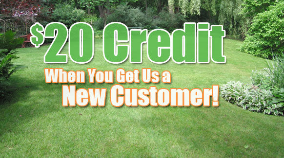 Refer us for a $20 credit!