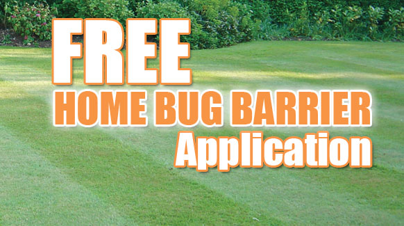 Free Home Bug Barrier Application!