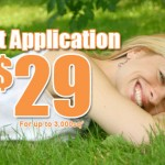 $29.99 First Application