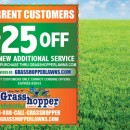 Grasshopper Lawns March Specials