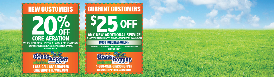 August Lawn Care Specials